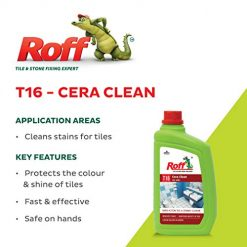 Pidilite T16 Roff Cera Clean (1 litre) application areas